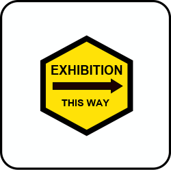 Exhibition this way