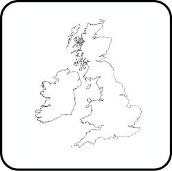 A map of the UK.